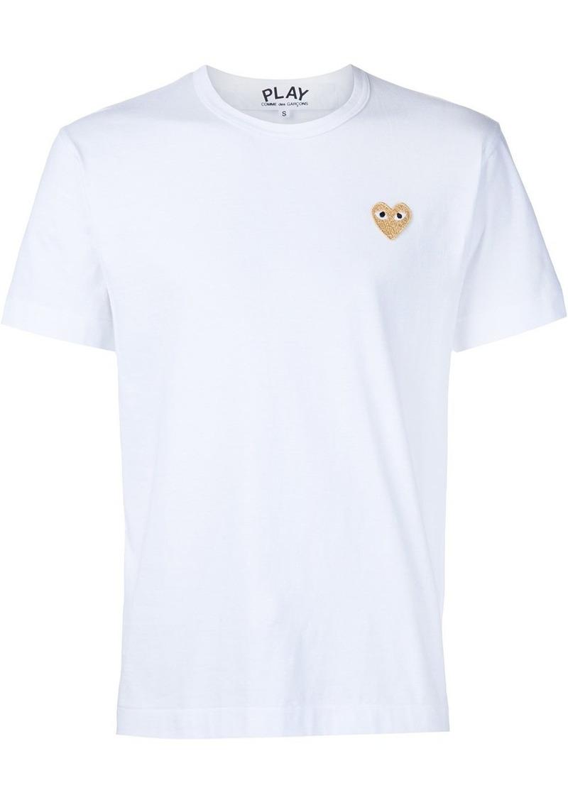 Comme des Garçons heart application T-shirt