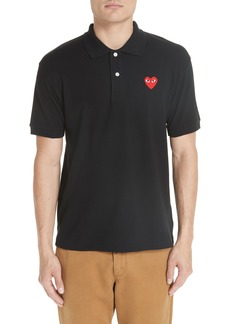 Comme des Garçons PLAY Heart Logo Polo