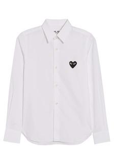 Comme des Garçons PLAY Heart Patch Shirt