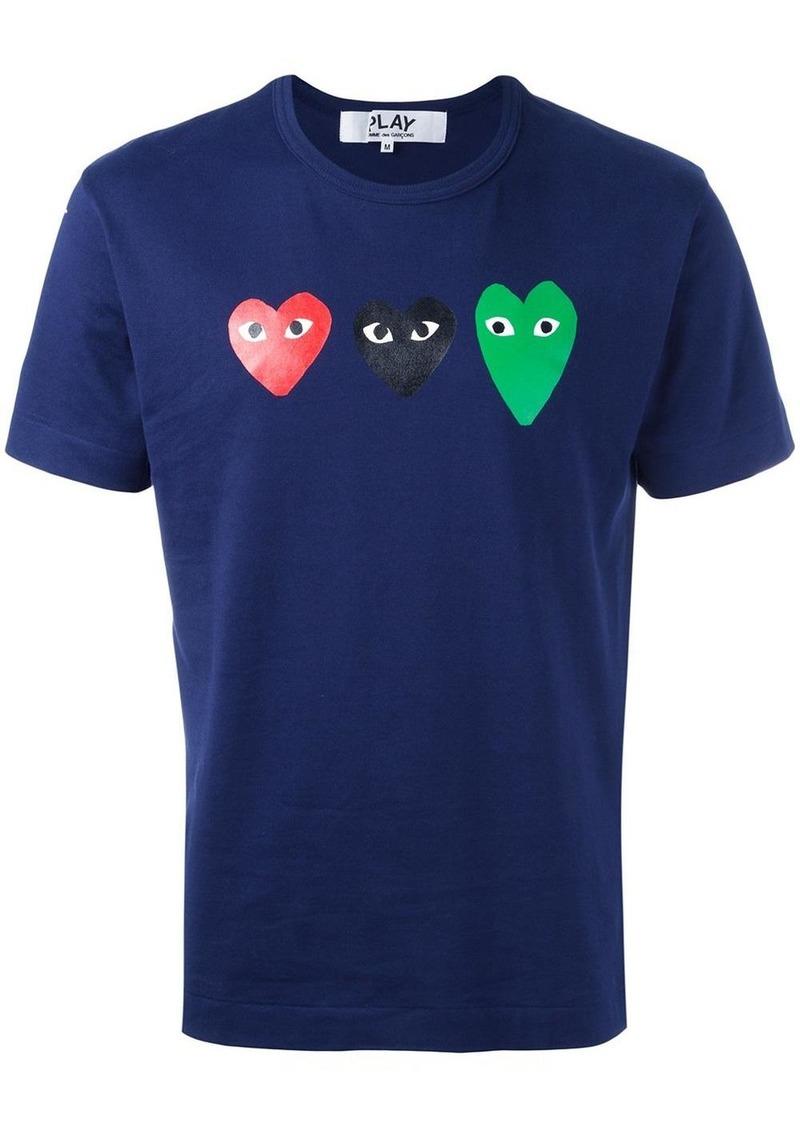 Comme des Garçons heart print T-shirt