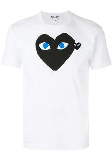 Comme des Garçons heart-print crew-neck T-shirt