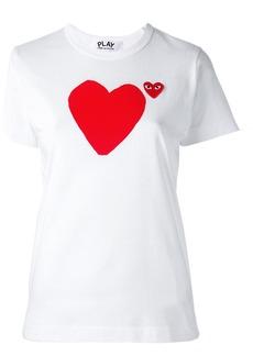 Comme des Garçons 'heart' print T-shirt
