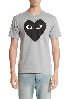 Comme des Garçons PLAY Logo Graphic Crewneck T-Shirt