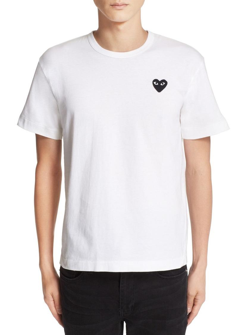 Comme des Garçons PLAY Logo Slim Fit Graphic T-Shirt
