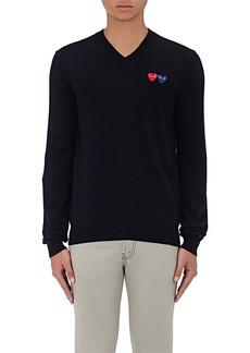 Comme des Garçons PLAY Men's Heart Wool Sweater