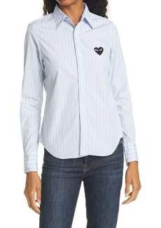 Comme des Garçons PLAY Stripe Cotton Shirt