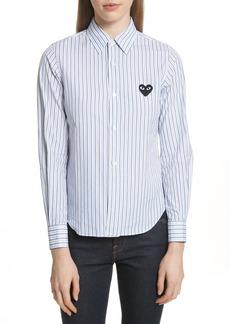 Comme des Garçons PLAY Stripe Shirt