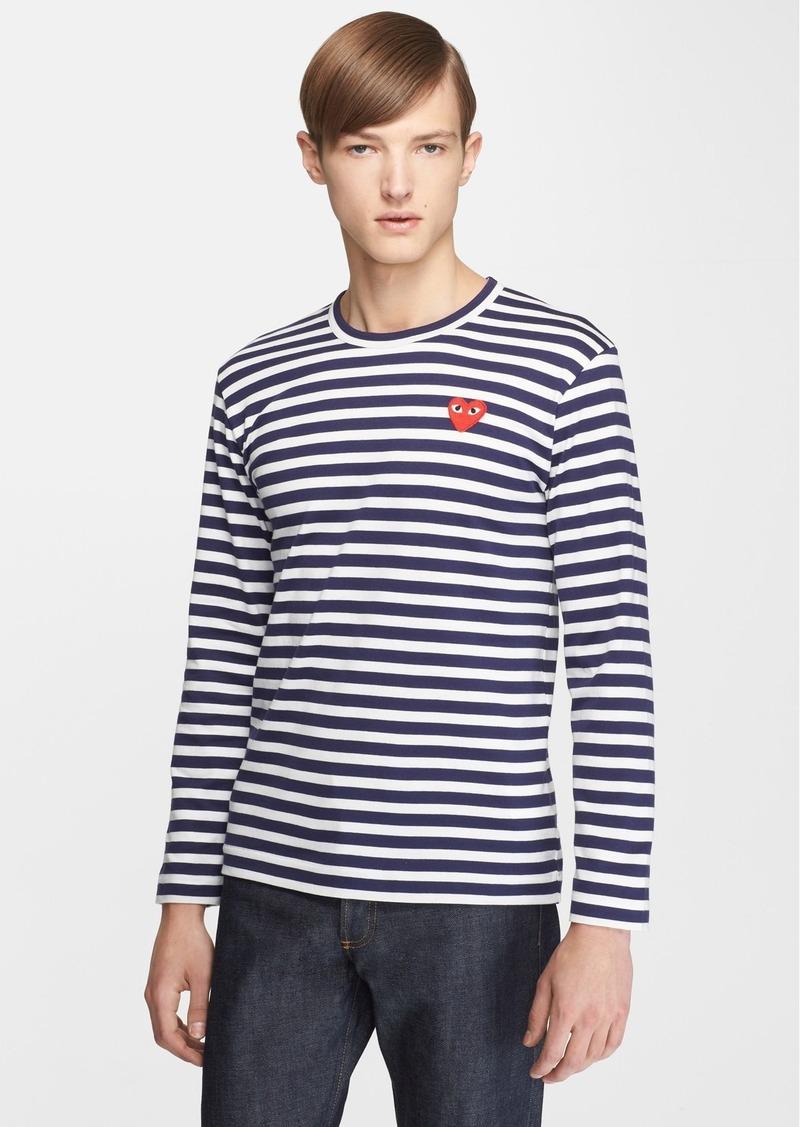 Comme des Garçons PLAY Slim Fit Stripe T-Shirt