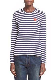 Comme des Garçons PLAY Stripe T-Shirt
