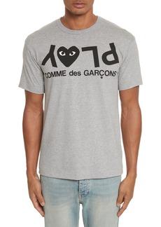 Comme des Garçons PLAY Upside Down Graphic T-Shirt
