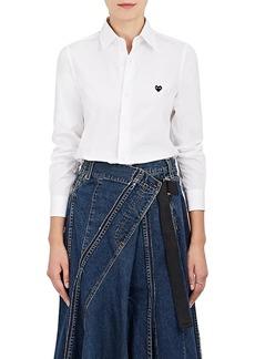 Comme des Garçons PLAY Women's Cotton Poplin Shirt