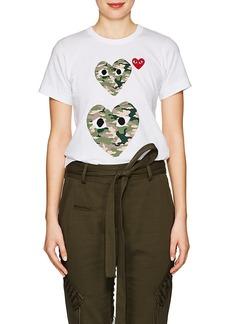 Comme des Garçons PLAY Women's Graphic Cotton T-Shirt