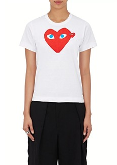 Comme des Garçons PLAY Women's Graphic Cotton T-Shirt
