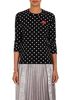 Comme des Garçons PLAY Women's Heart Cotton Jersey T-Shirt