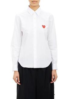 Comme des Garçons PLAY Women's Heart Emblem Shirt