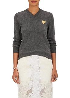 Comme des Garçons PLAY Women's Heart Wool Sweater