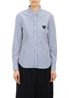 Comme des Garçons PLAY Women's Striped Shirt