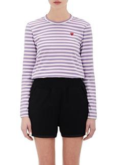 Comme des Garçons PLAY Women's Striped T-Shirt