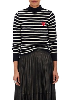Comme des Garçons PLAY Women's Striped Wool Sweater