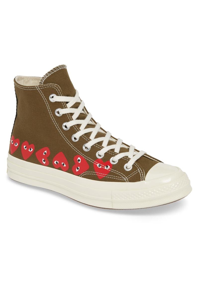 Comme des Garçons PLAY x Converse Chuck Taylor® High Top Sneaker (Women)