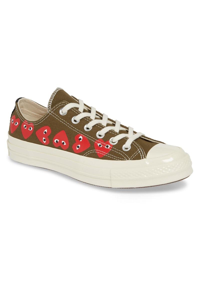 Comme des Garçons PLAY x Converse Chuck Taylor® Low Top Sneaker (Women)