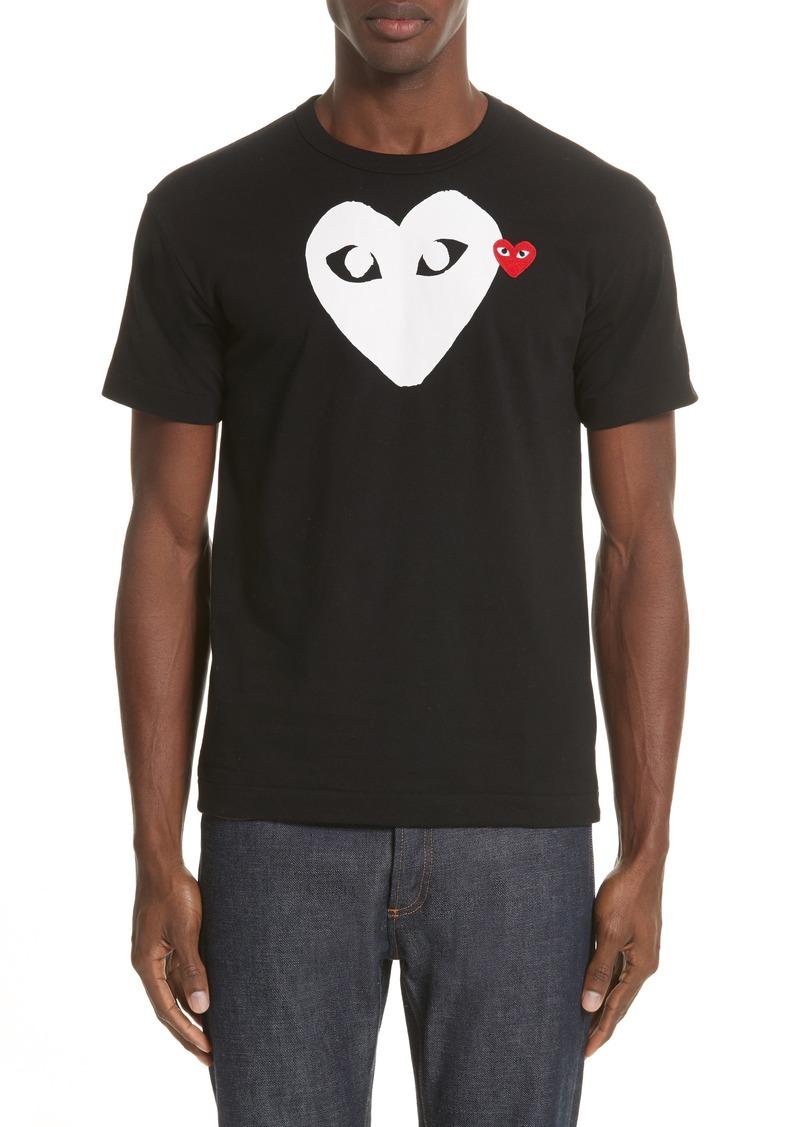 Comme des Garçons PLAY X-Ray Heart Slim Fit Logo T-Shirt