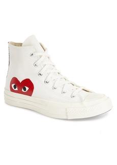 Comme des Garçons PLAYx Converse Chuck Taylor® - Hidden Heart High TopSneaker (Men)