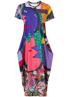 Comme Des Garçons printed dress - Multicolour