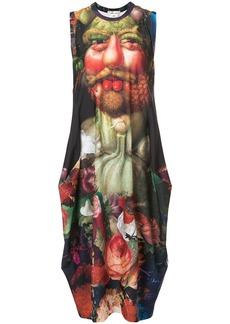 Comme Des Garçons printed tank dress - Multicolour
