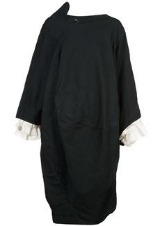 Comme Des Garçons ruffle sleeve dress - Black