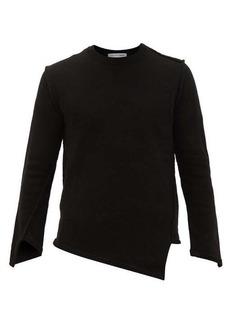 Comme des Garçons Shirt Asymmetric crew-neck sweater