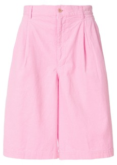 Comme Des Garçons Shirt bermuda shorts - Pink & Purple