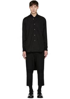 Comme des Garçons Shirt Black Cropped Shirt