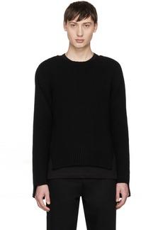 Comme des Garçons Shirt Black Open Side Sweater