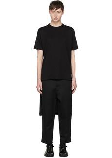 Comme des Garçons Shirt Black Short/Long T-Shirt