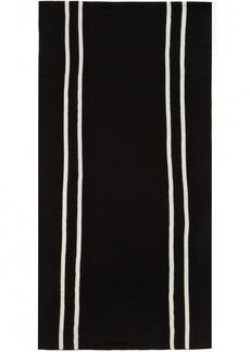 Comme des Garçons Shirt Black Stripe Scarf
