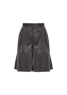 Comme des Garçons Shirt Cotton-corduroy shorts