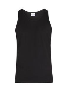 Comme des Garçons Shirt Cotton-jersey tank top