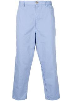Comme Des Garçons Shirt cropped chinos - Blue