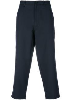 Comme Des Garçons Shirt cropped trousers - Blue