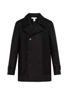Comme des Garçons Shirt Double-breasted wool coat