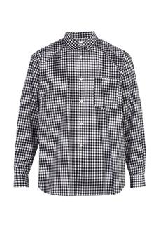 Comme des Garçons Shirt Forever cotton gingham shirt
