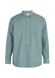 Comme des Garçons Shirt Forever gingham cotton shirt