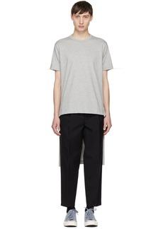 Comme des Garçons Shirt Grey Short/Long T-Shirt