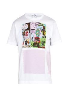 Comme des Garçons Shirt Jean-Michel Basquiat-print cotton T-shirt