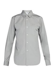 Comme des Garçons Shirt Logo-print cotton shirt