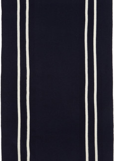Comme des Garçons Shirt Navy & White Stripe Scarf