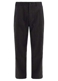 Comme des Garçons Shirt Panelled gabardine trousers