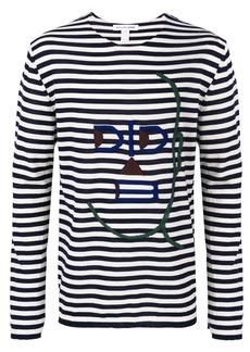 Comme Des Garçons Shirt striped sweater - Blue