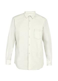 Comme des Garçons Shirt Washed-effect cotton shirt